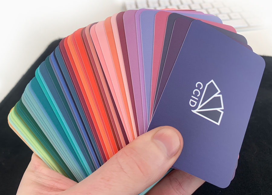 CCID studio business cards