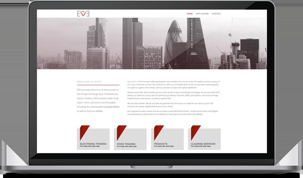 EVFX web design