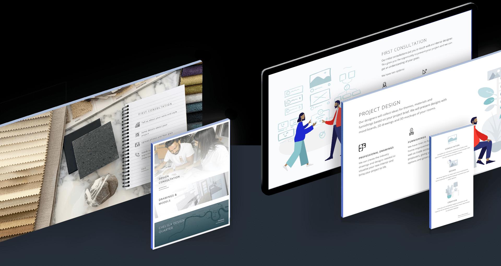 chelsea creek interior design studio website
