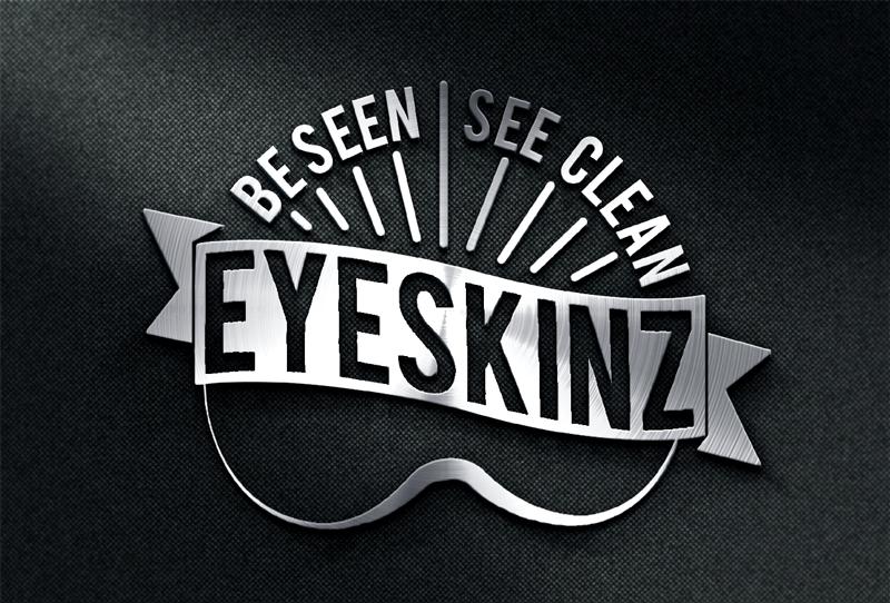eyeskinz logo mockup