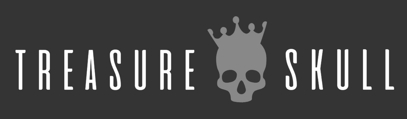 treasure skull logo